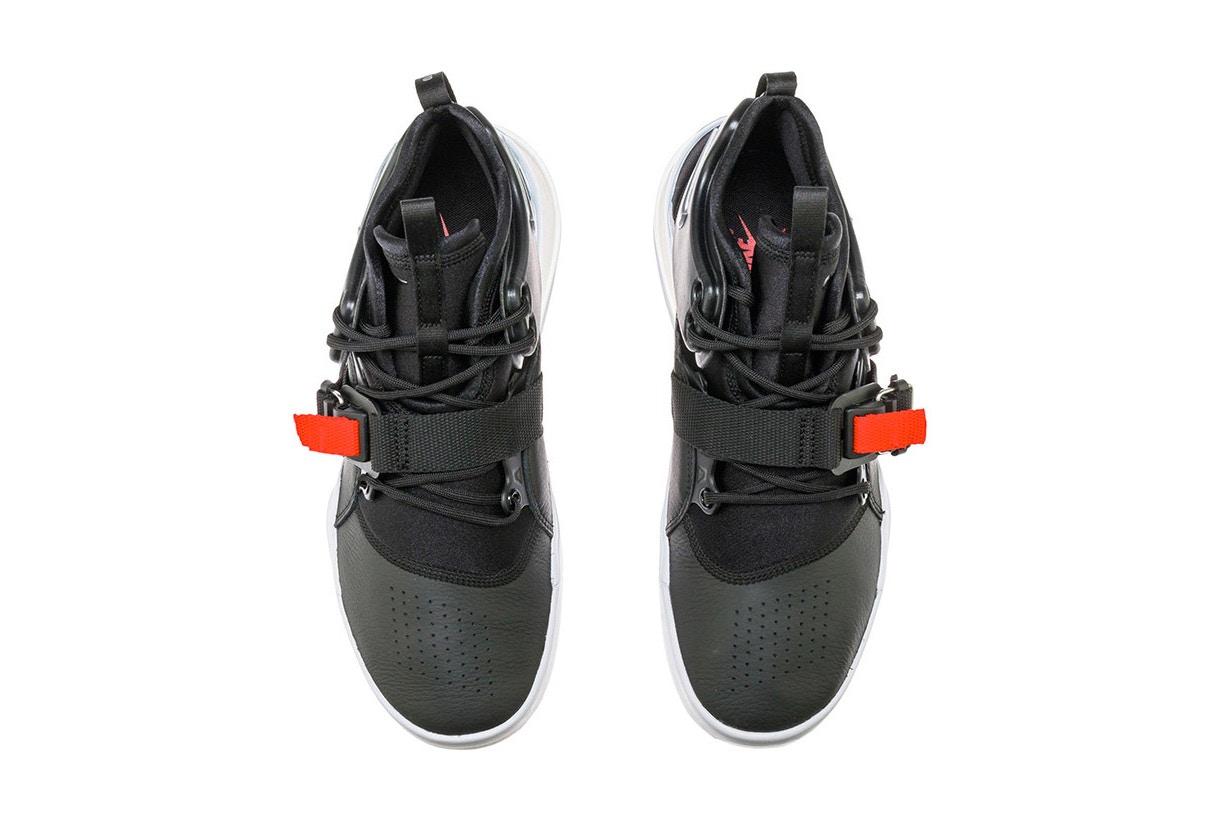 "995c3a3f0f1aa Nike Air Force 270 ""Black/Metallic Silver"" Gets a Release Date ..."
